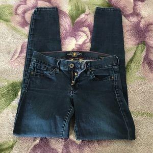 Lucky Brand Women's Charlie Super Skinny Jeans